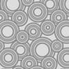 灰色のたくさんのサークルが散らばるパターン