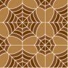 茶色の蜘蛛の巣のような幾何学模様パターン