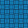 黒と青の網代文様 和柄パターン