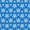 青色のスターが並ぶパターン