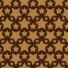 茶色のスターが並ぶパターン