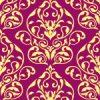 紫色のダマスク柄パターン