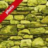 黄色の石ブロックのパターン