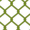 金網・フェンスのようなラインが絡み合うパターン