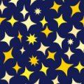 満天の星空のようなシームレスパターン
