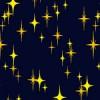 星がキラキラ光ったようなパターン
