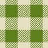 和風な緑色のシェパードチェック柄パターン