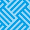 青色のバスケット柄パターン