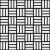 白黒の網代文様 和柄パターン